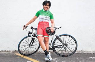 Belem Guerrero. Ciclista  (Foto: Alejandra Carbajal)