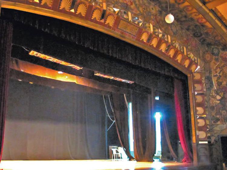 Teatro del Pueblo. Mercado Abelardo Rodríguez