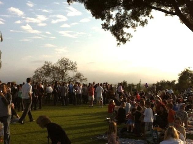 Go wine tasting at Barnsdall Art Park