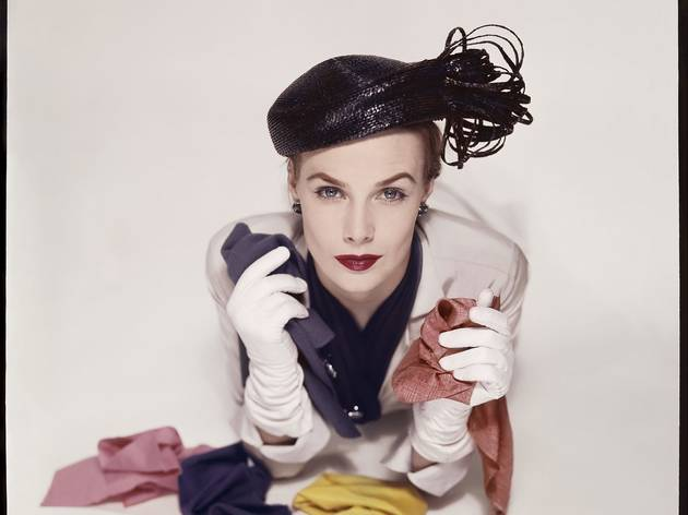 Erwin Blumenfeld (Lilian Macusson for the cover of American Vogue, January 1951)