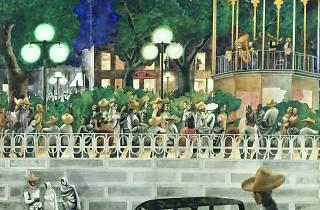 Edward Burra ('El Paseo', c1938 )
