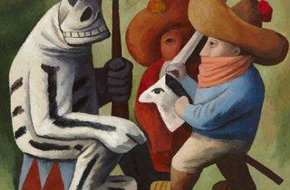 Jose Chavez Morado ('Carnival in Huejotzingo', 1939 )