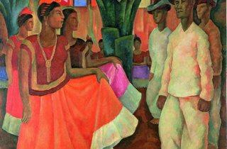 Diego Rivera  ('Dance in Tehuantepec', 1928)