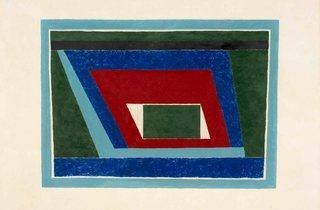 Josef Albers ('Mantic', 1940)