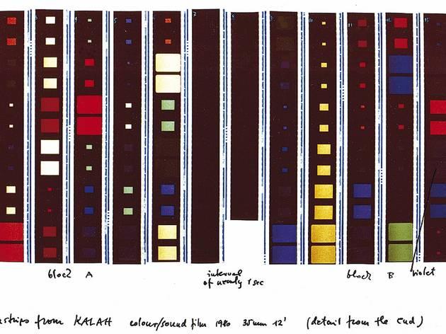 Dóra Maurer (Frames from 'Kalah', 1980)
