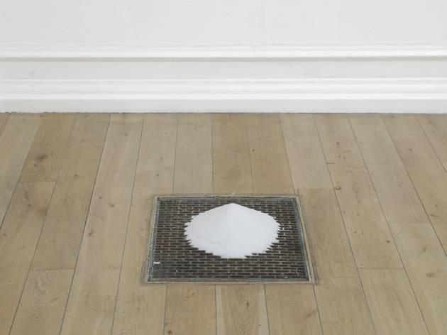 Crys Cole ('Filling a space with salt (in two parts)', 2013)
