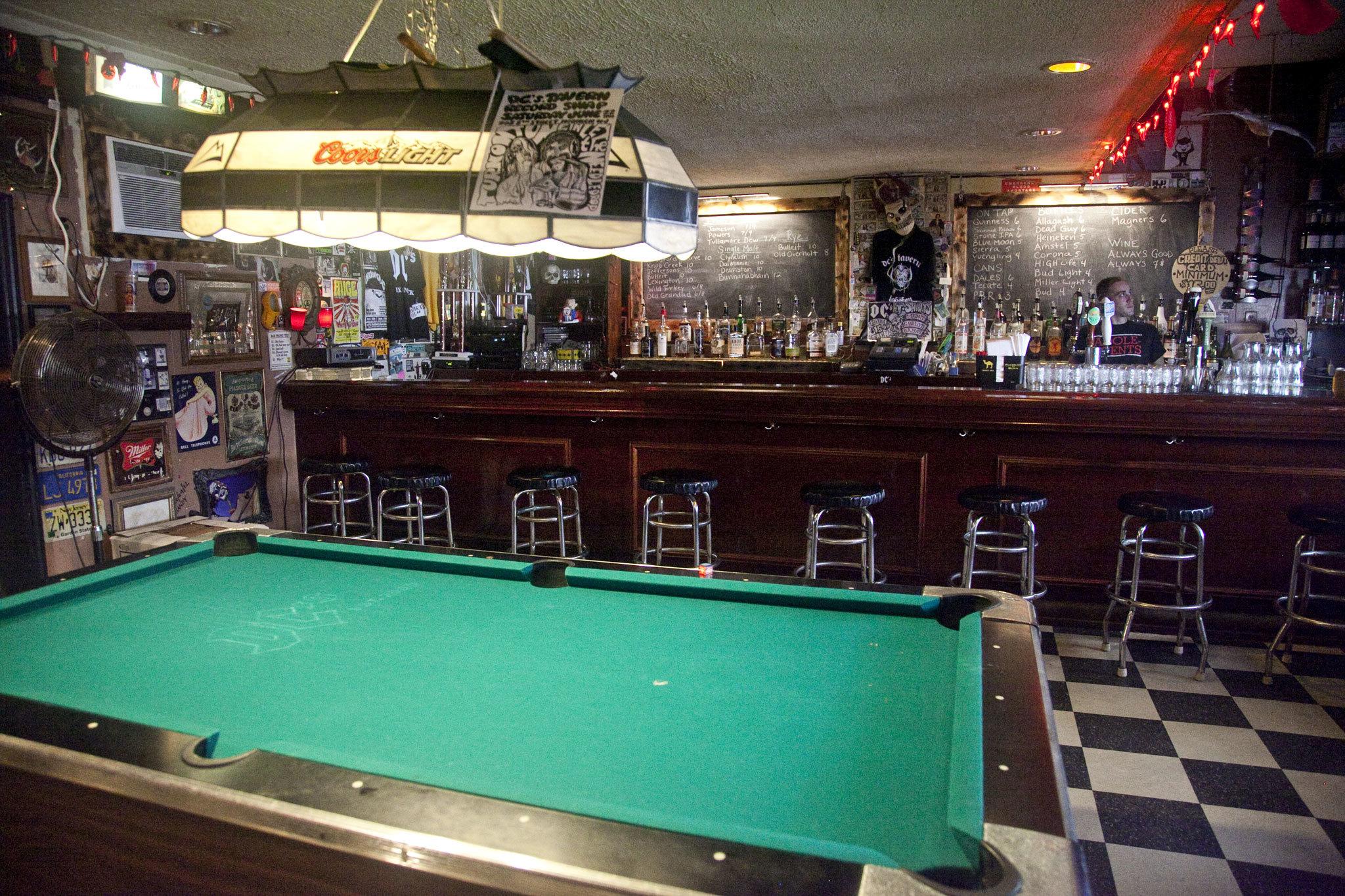 Drink at a dive bar