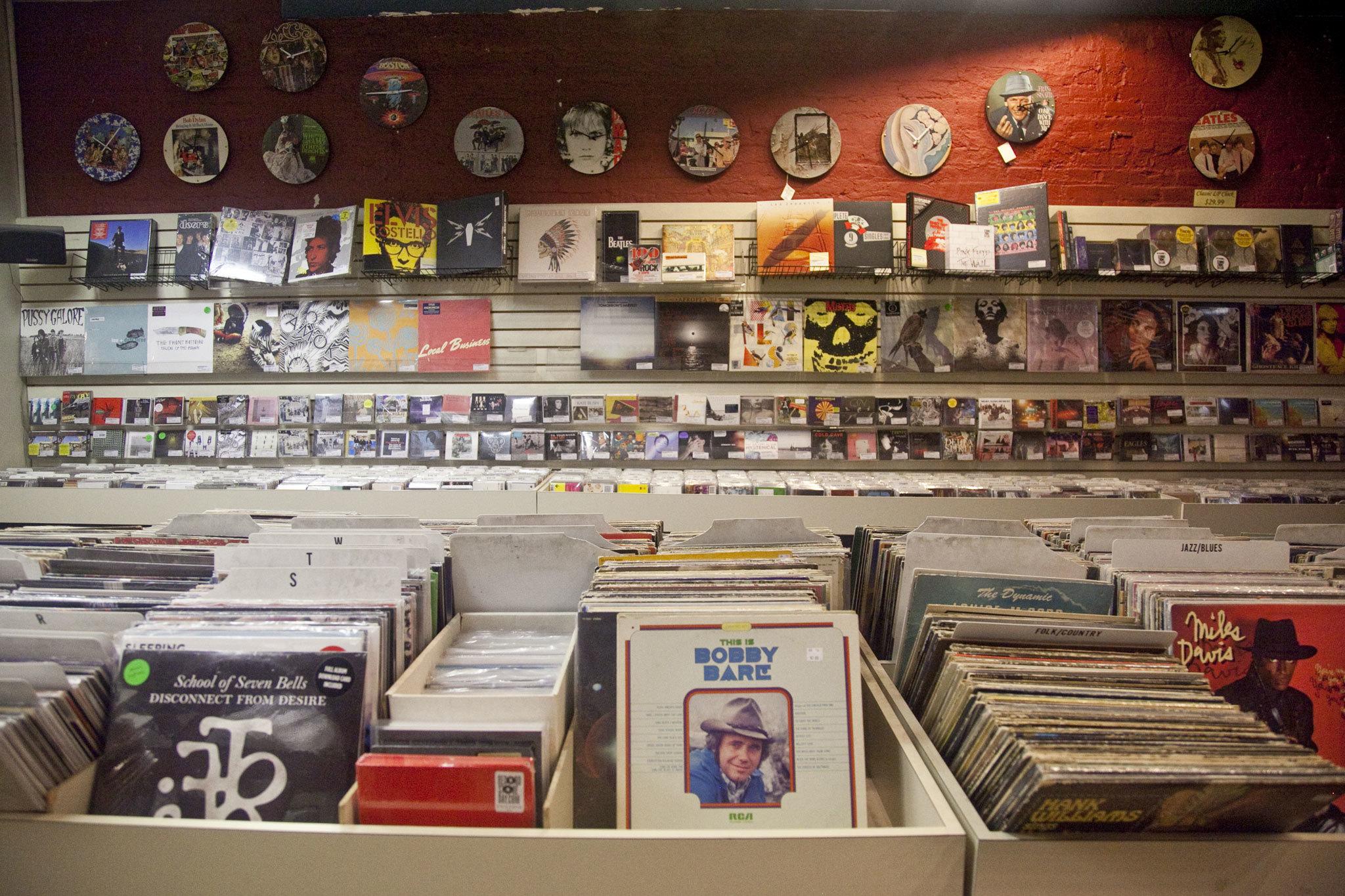 Dig for vinyl