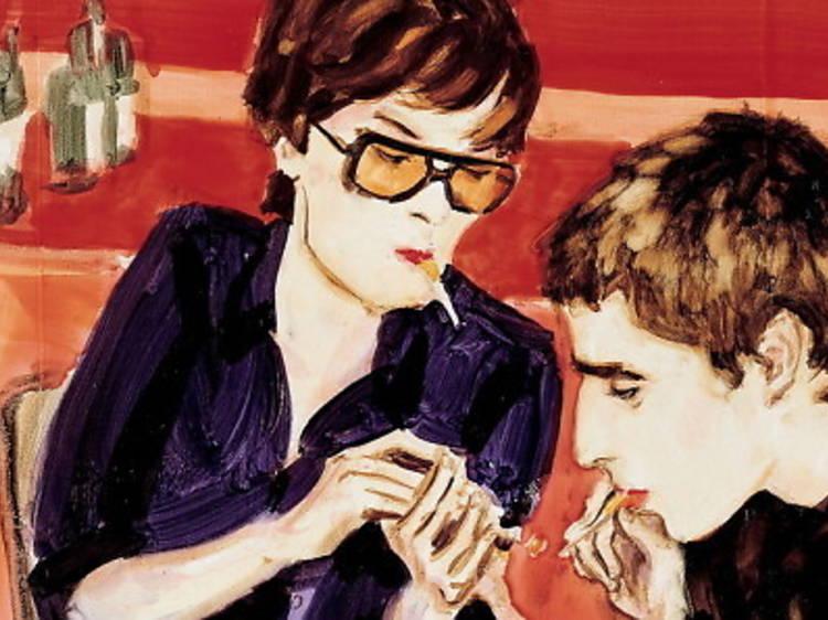 Flirteig i tabac sociable a la porta