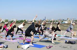 Rooftop Yoga in Peckham