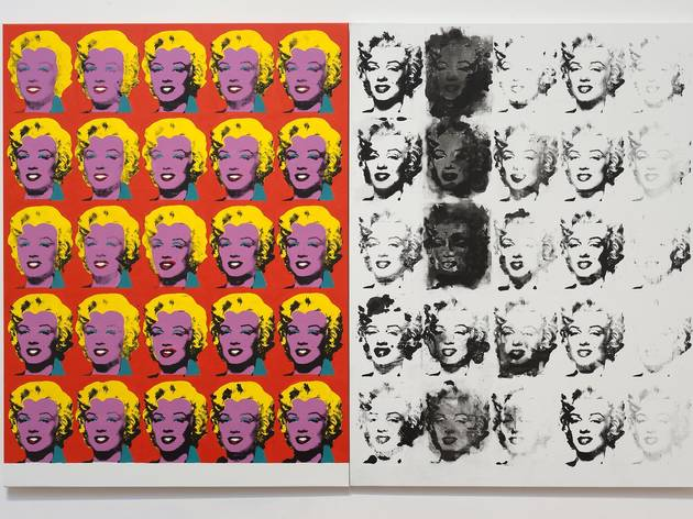 Sturtevant ('Warhol Diptych', 2004)