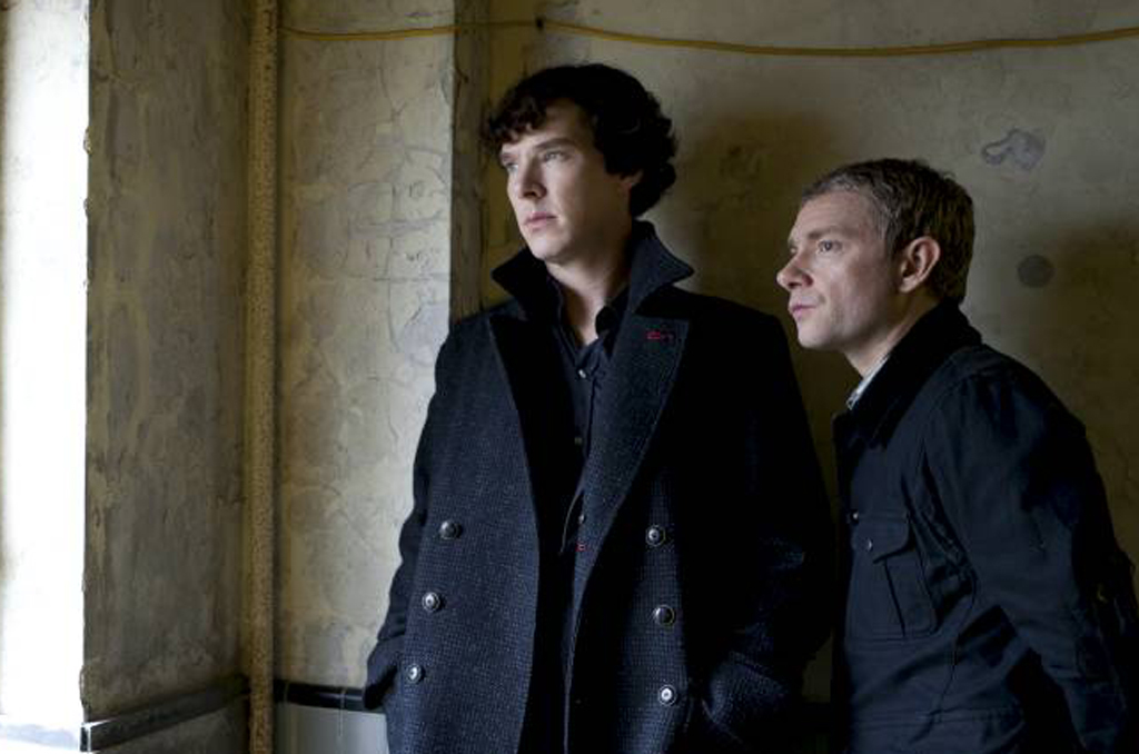 The new series of 'Sherlock' finally has an air date