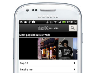 Time Out New York app for Android