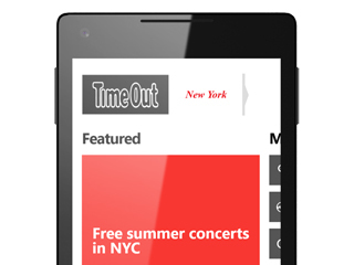 Time Out New York app for Windows