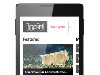 Time Out Los Angeles app for Windows