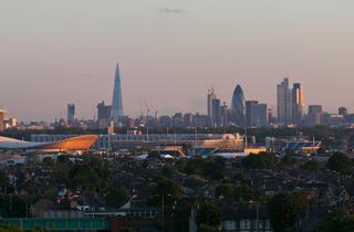 Sunset Over London: Tower Tours of St John's Church