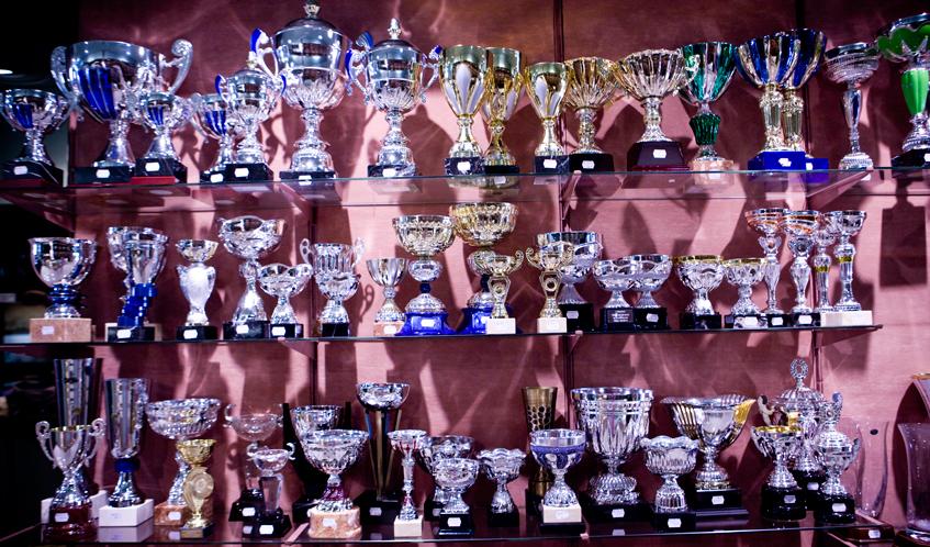 Laudo's trofeus