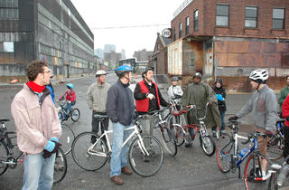 Brooklyn Navy Yard Sustainability Bicycle Tour