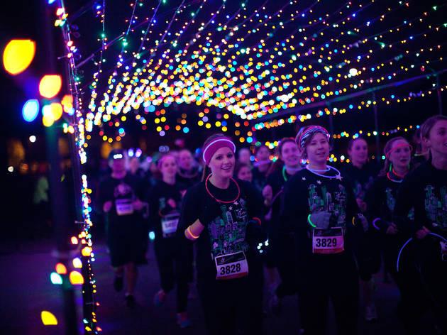 LivingSocial's Glow-in-the-Dark 5K Dance Party