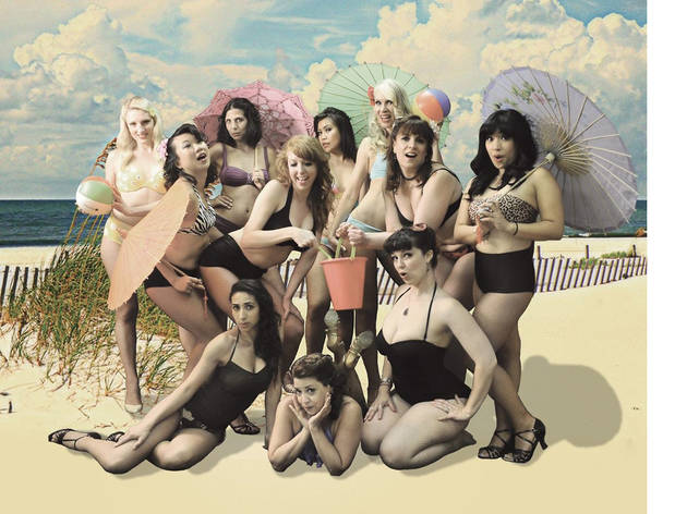 Burlesque Bikini Productions: Postcards from Bikini Bottom