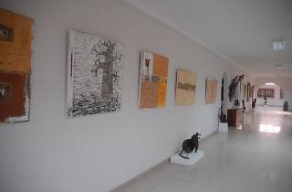 Ablade Glover's Artists Alliance Gallery, Accra, Ghana,