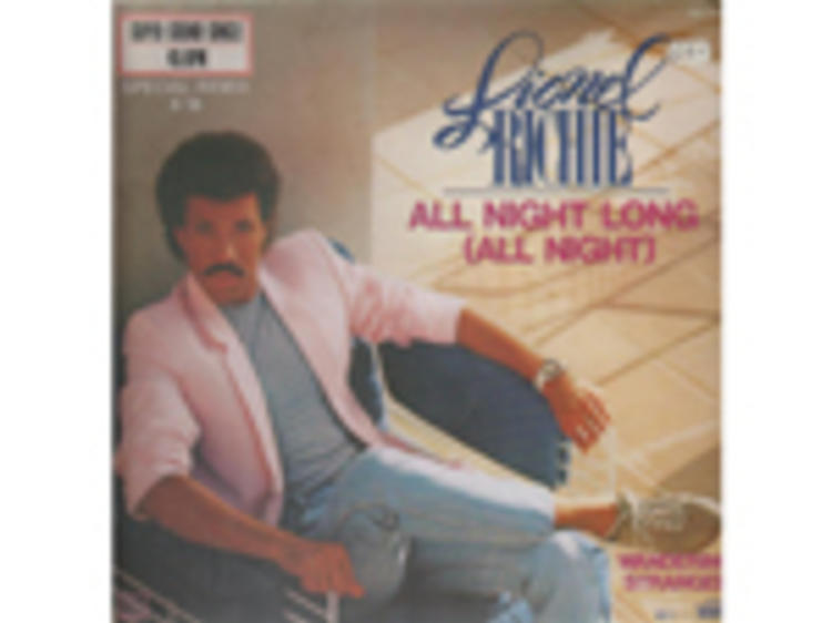 """""""All Night Long"""" by Lionel Richie"""
