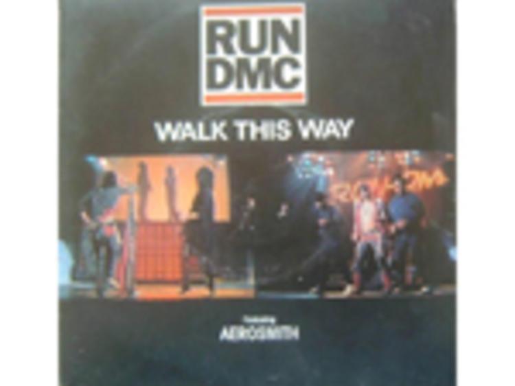 """Walk This Way"" by Run-D.M.C. with Aerosmith"