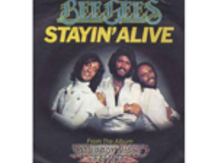 """""""Stayin' Alive"""" by Bee Gees"""