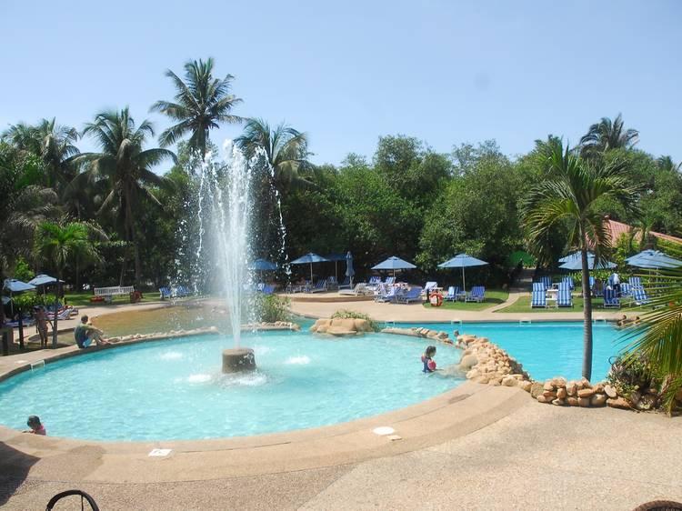 Fun and games in Labadi Beach Hotel