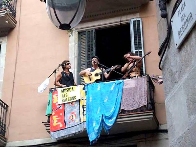 Llimonades 2014: Concerts als balcons