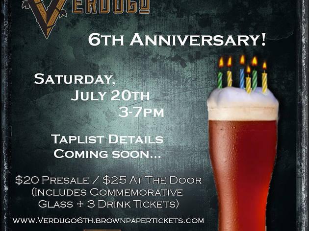 Verdugo Bar 6th Anniversary Celebration