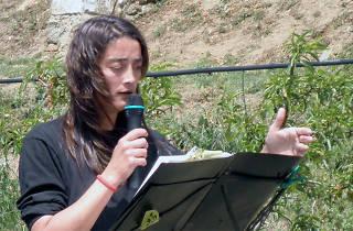Nits poètiques a la fresca: Martí Sales i Núria Martínez-Vernis i amics