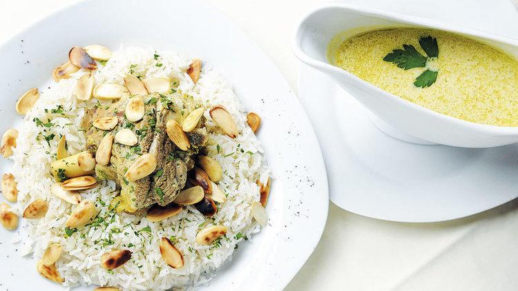 'Mansaf' (Preu del plat: 13 €)