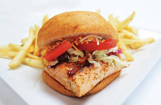 malibu fish grill, fish sandwich, seafood