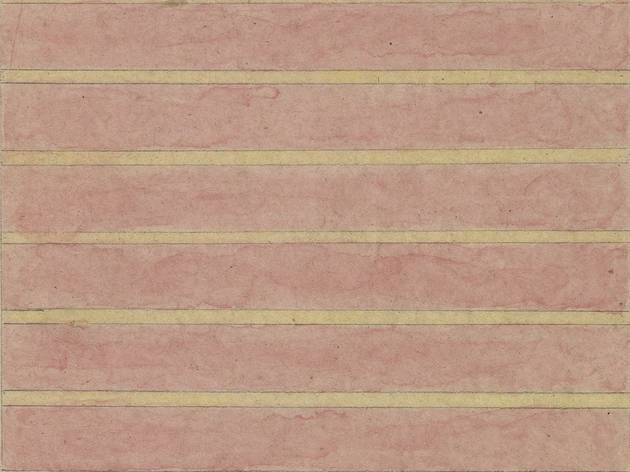 Agnes Martin (Untitled, 1958)