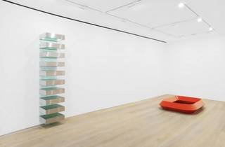 Donald Judd (Installation view, Donald Judd, David Zwirner, London, 2013)