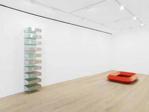 Donald Judd (Installation view, Donald Judd, David Zwirner, London, 2013)