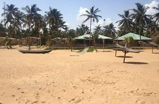 Beach at Casa del Papa, Ouidah, Benin
