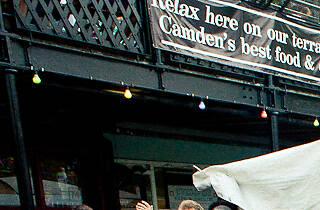 Camden Lock Summer Night Markets
