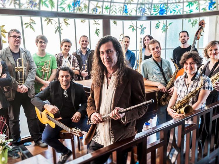 Jorge Pardo. Huellas XL Big Band