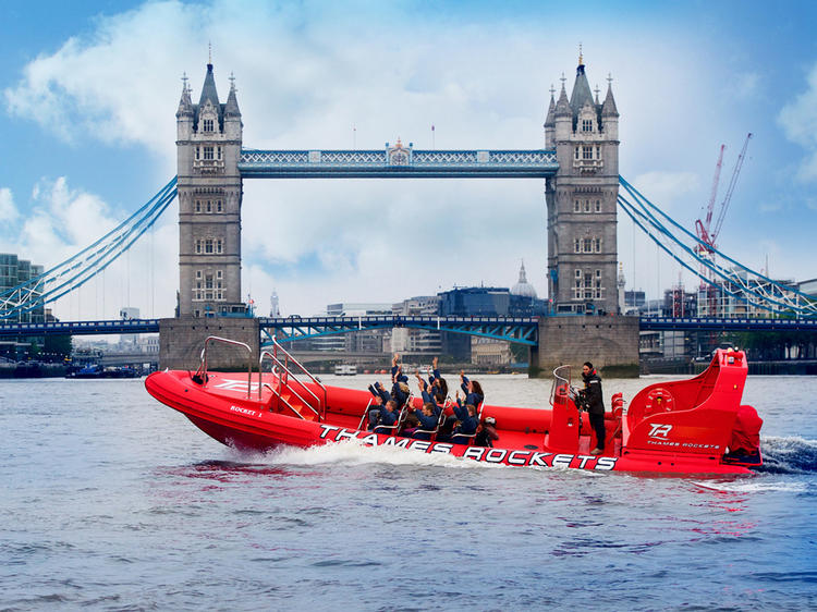 Thames Rockets High Speed Boat Ride