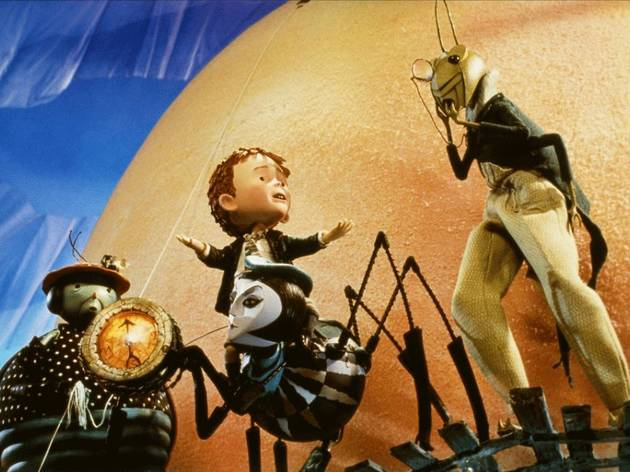 James and the Giant Peach / James y el melocotón gigante