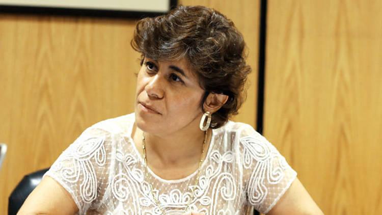 Diana Talavera Flores, presidenta del IEDF