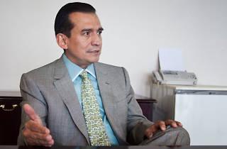 Alejandro Delint García, magistrado presidente del TEDF