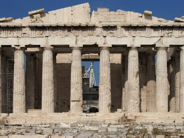 El Partenón, arquitectura y arte