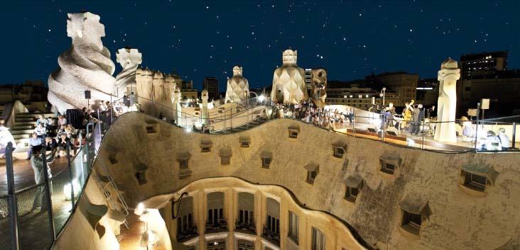 Summer Nights at La Pedrera