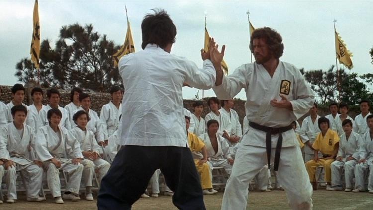 'Opération dragon' (1973) (Au tournoi d'arts martiaux)