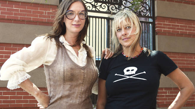 Laurie Henzel, left, and Debbie Stoller
