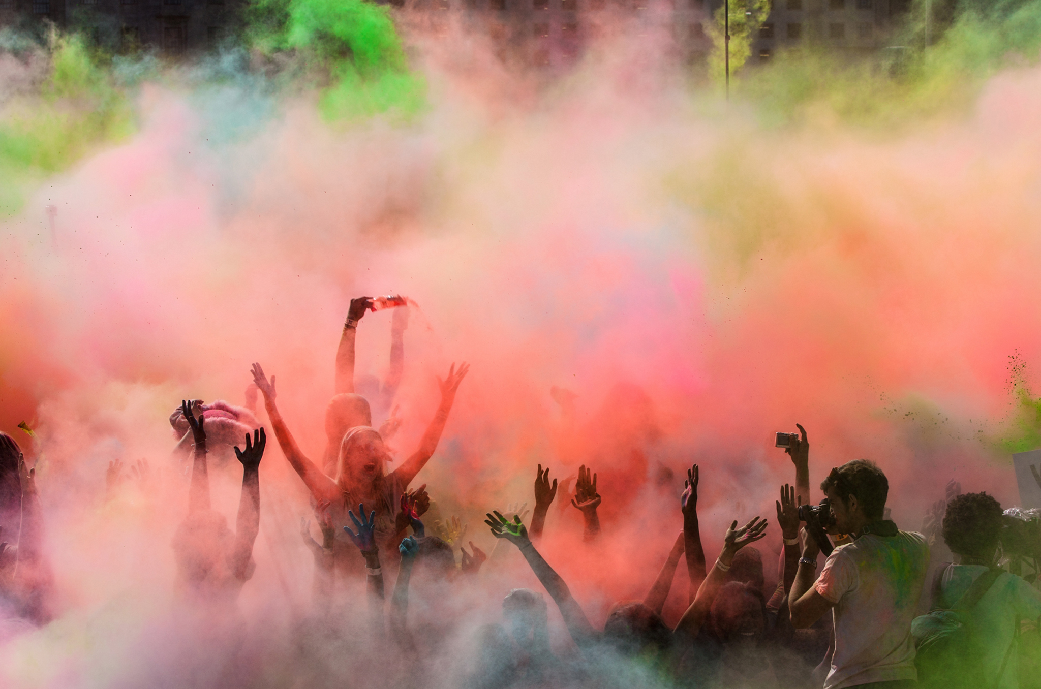 Holi festival events