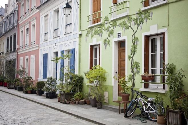 Rue Crémieux e Rue des Thermopyles